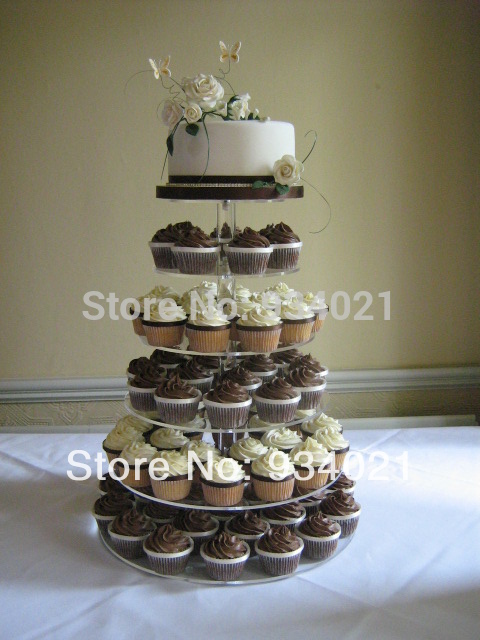 how to make cupcake wedding cake stands 6 tier cupcake stand tier cupcake stand acrylic cupcake 15926