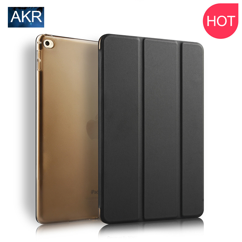 for iPad Air 2 Fashion PU Leather Case Stand Cover AKR 2016 New Arrival Free Shipping Slim Light Weight Scratch-Resistant black color 2gang touch light switch with wireless remote control rf 433mhz glass panel smart wall touch switch uk type