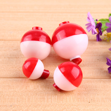12Pcs/set Assorted Mixed Sizes Round Plastic Sea Fishing Floats Bobbers Buoy Set Combo Fishing Tackle 4 Sizes 3g-11g