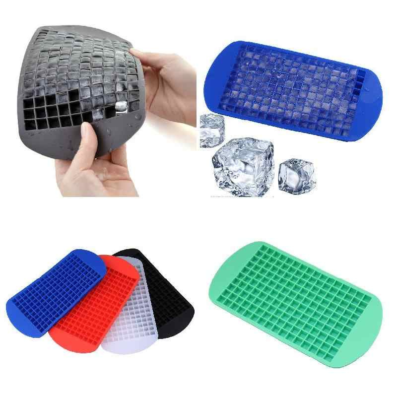 160 Practical Ice Mold Mini Small Ice Cube Tray Frozen Cubes Trays Silicone Ice Mold Kitchen Tool RT99