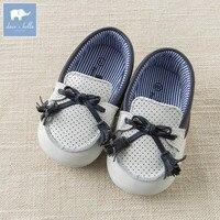 DB6733 Dave Bella baby dziewczyny chłopcy miękkie buciki prawdziwej skóry mody buty