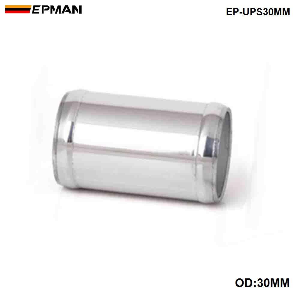 EPMAN прямая алюминиевая интеркулер Впускной турбо трубы OD 22 мм/30 мм/35 мм L = 76 мм - Цвет: OD 30MM