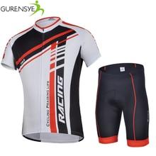 Gurensye short sleeve male cycling clothing jerseys cycling clothes china bike Men Cycling Jerseys Quick-Dry bike clothes