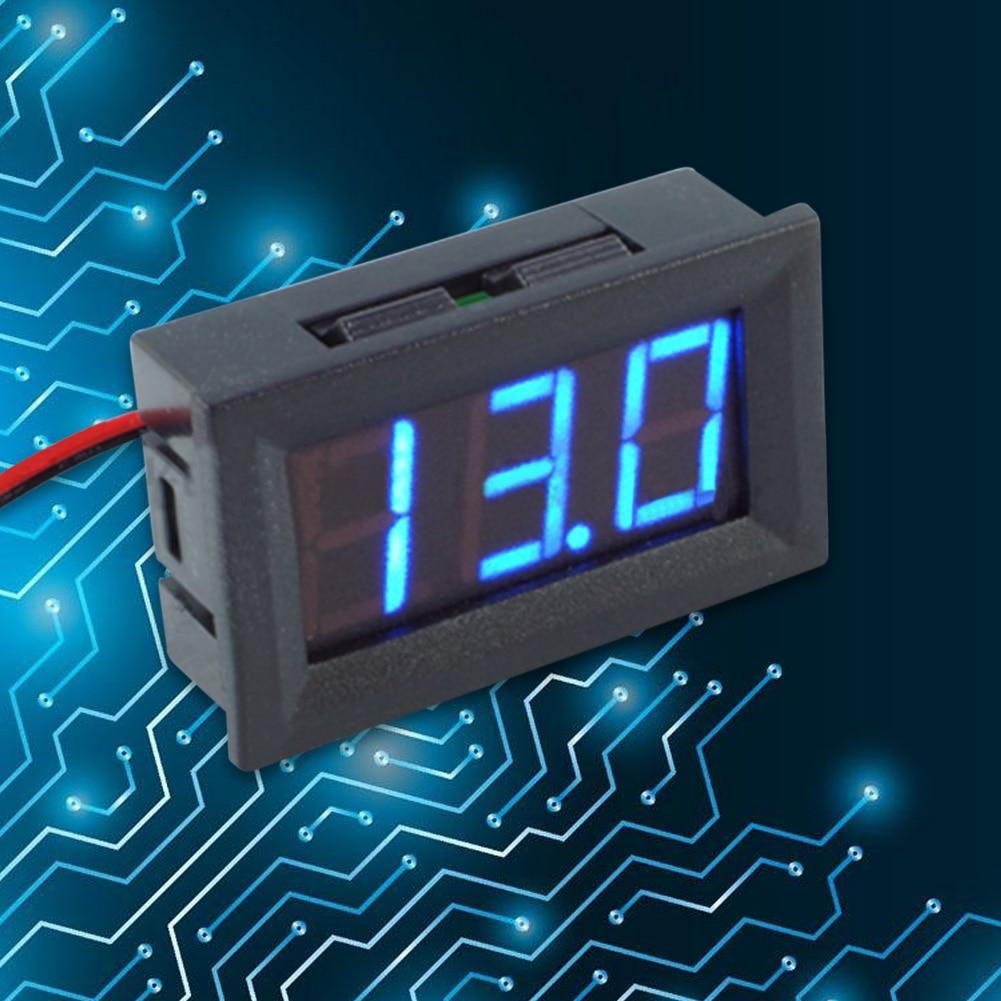 Skaitmeninis nuolatinės srovės voltmetro ampermetras 0.56 colių - Matavimo prietaisai - Nuotrauka 3