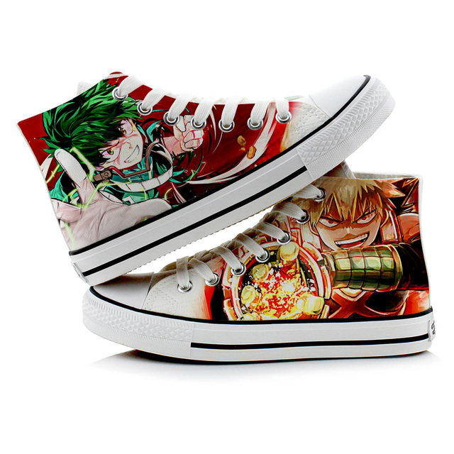 3D MY HERO ACADEMIA HIGH TOP SHOES (6 VARIAN)