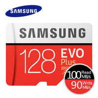 Cartão de memória evo + evo de samsung-plus micro sd 256 gb 128g 64 gb 32 gb 16 gb class10 cartão microsd c10 UHS-I trans flash microsd cartão