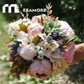 Multi Color 2016 Artificial Wedding Bouquets Bridal Flower Roses Forest Handmade Holding Accessories Highly Recommended