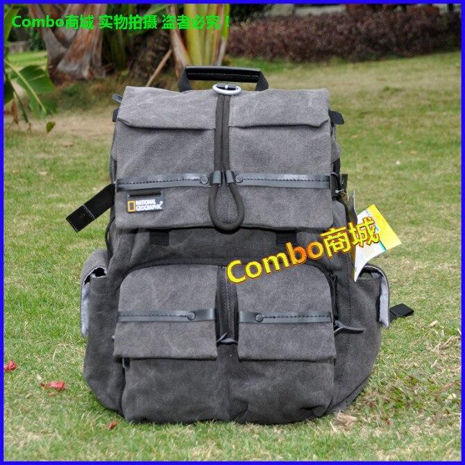 National Geographic NG Walkabout doubleshoulder DSLR caméra sac à dos pour ordinateur portable pour tous les appareils photo dslr 5D2 5D3 6D 1DX 6D2