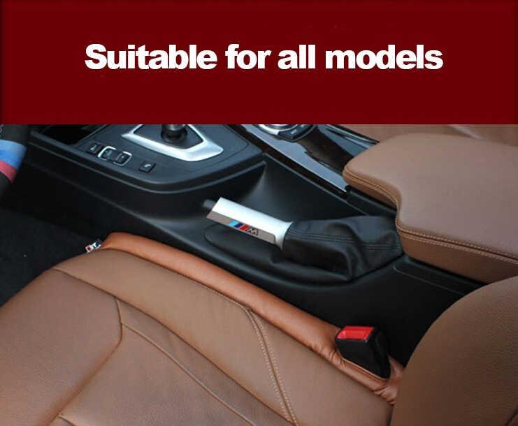 Couro Almofada do Assento de carro Lacuna Fenda Protetor À Prova de Fugas para Peugeot 206 307 406 407 207 208 308 508 2008 3008 4008