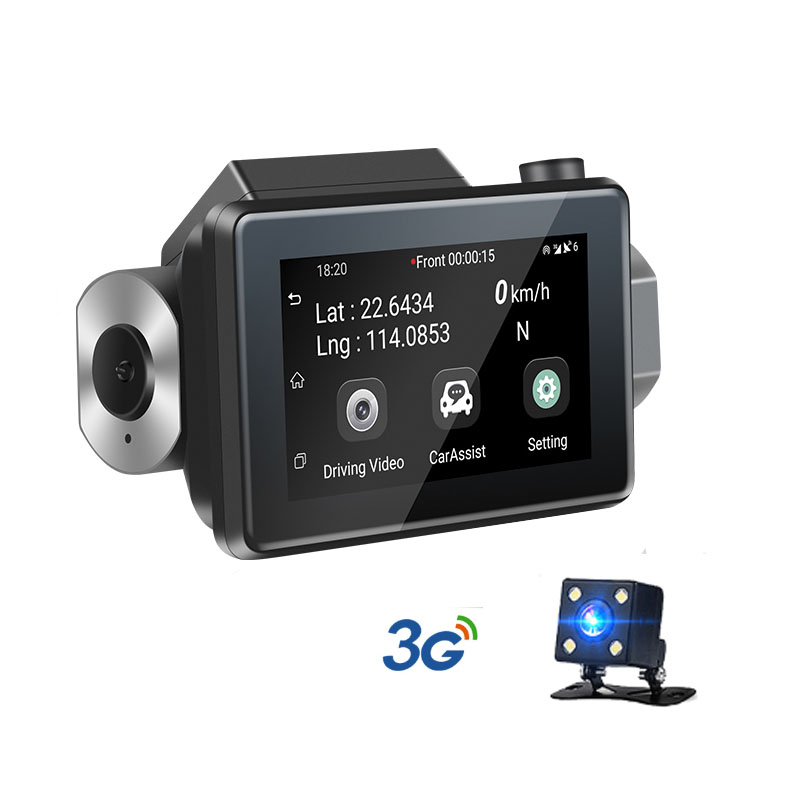3G Car DVR with Android GPS log Dual Lens 1080p dash camera WIFI Car cam Video Registrar drive recorder-in DVR/Dash Camera from Automobiles & Motorcycles    1