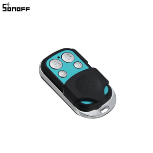 Image 2 - Sonoff 433MHz 4 kanal RF uzaktan kumanda ABCD 4 düğmeler Sonoff RF Slampher 4CH Pro R2 T1 elektrikli uzaktan anahtar Fob kontrolü