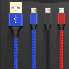 100pcs 3A Fast Charging Mobile Phone Charger Cable Micro USB  1M Date for Xiaomi Android Tablet iph 6 7