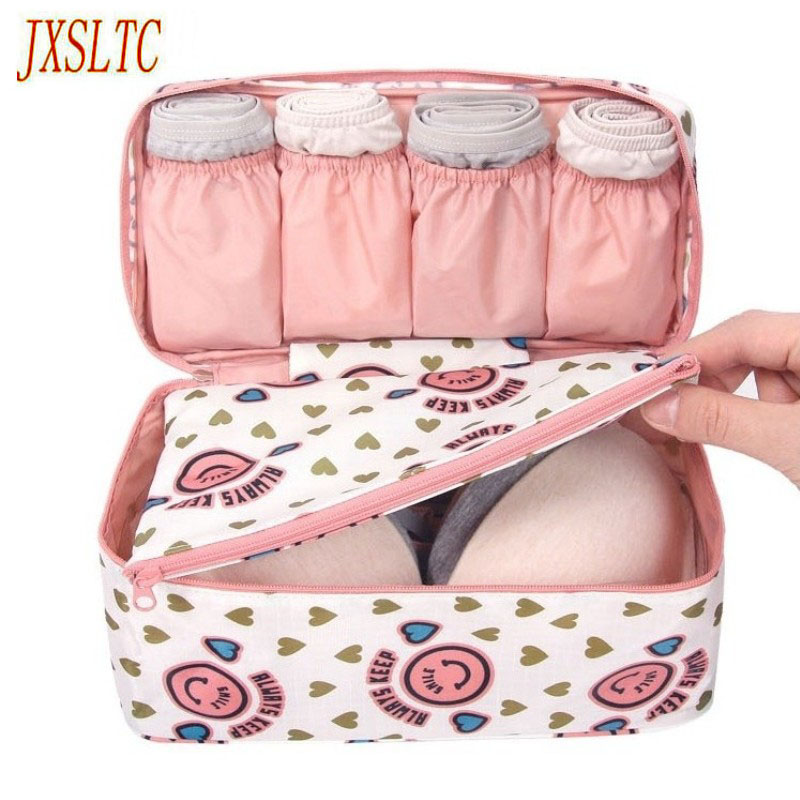 Bra Underwear Travel Bags Suitcase Organizer Women Travel Bags Luggage Organizer For Lingerie Makeup Toiletry Wash Bags Pouch