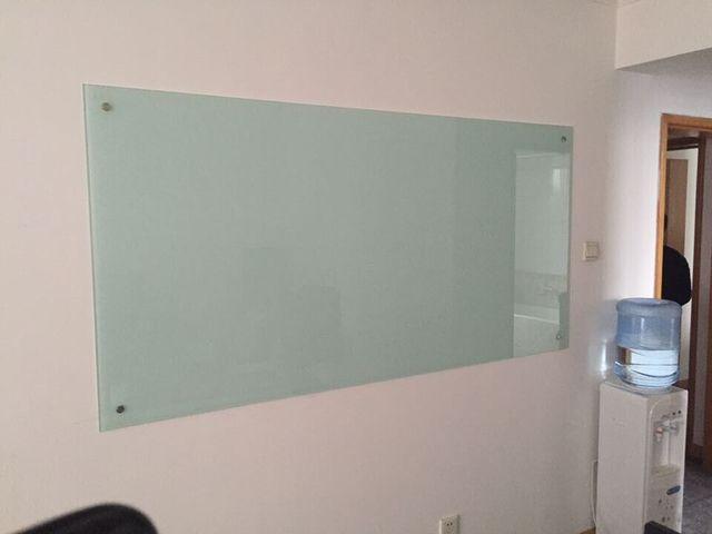 Personnalisé en acier magnétique verre tableau blanc tableau noir