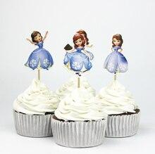 Princess Sofia Cupcake Toppers