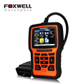 FOXWELL NT510 Full System Automotive Diagnostic Tool ABS SRS Airbag Crash Data SAS EPB Oil Service Reset For Nissan BMW Opel VAG