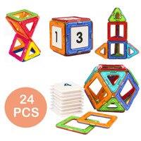 Children Toy Bricks Magnetic Building Toys 3D Diy Building Blocks Magnetic Blocks Tiles Gift Toys