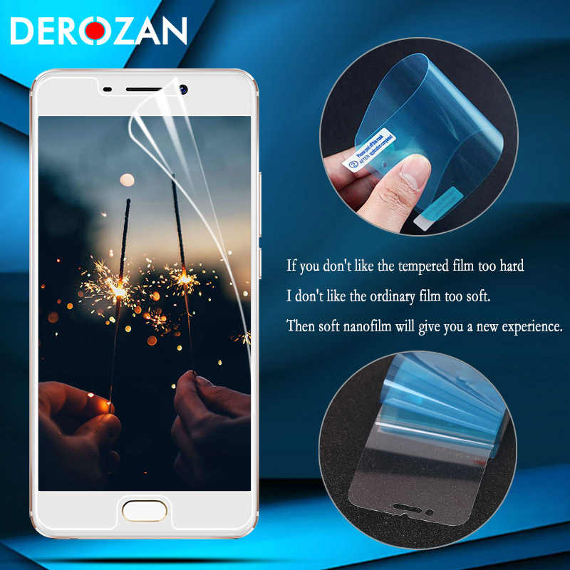Nano Explosion-proof Thin Film For Meizu 16 Plus 15 Screen Protector for Meizu M6 M5S M6S M6 M5 M3 Note M15 M5C Lite E3  Guard