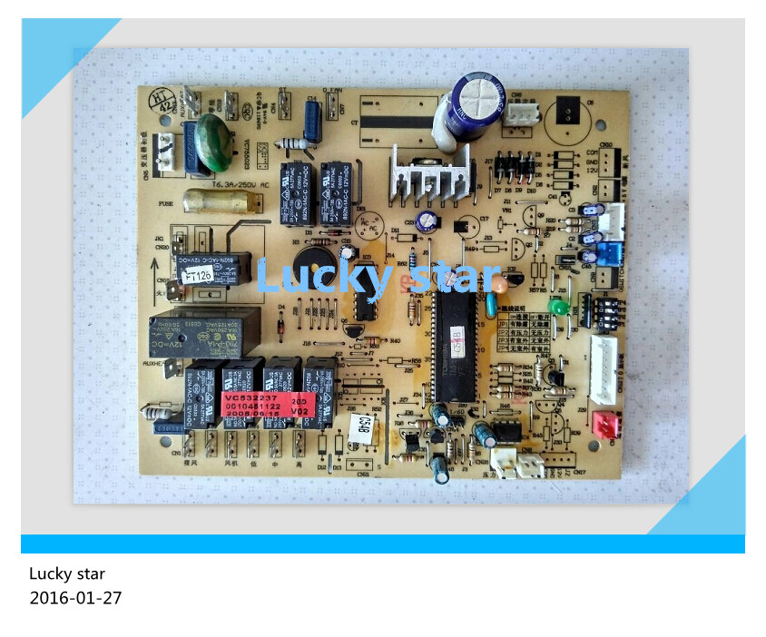 95% new for Haier Air conditioning computer board circuit board KFRD-120LW/L 0010451122 good working цена