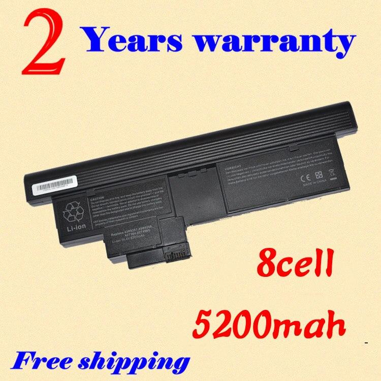 JIGU 8 CELLULES pour ordinateur portable batterie 43R9257 43R9256 42T4564 FRU 42T4657 FRU 42T4658 ASM 42T4565 pour Lenovo Pour ThinkPad X201 Tablet X200
