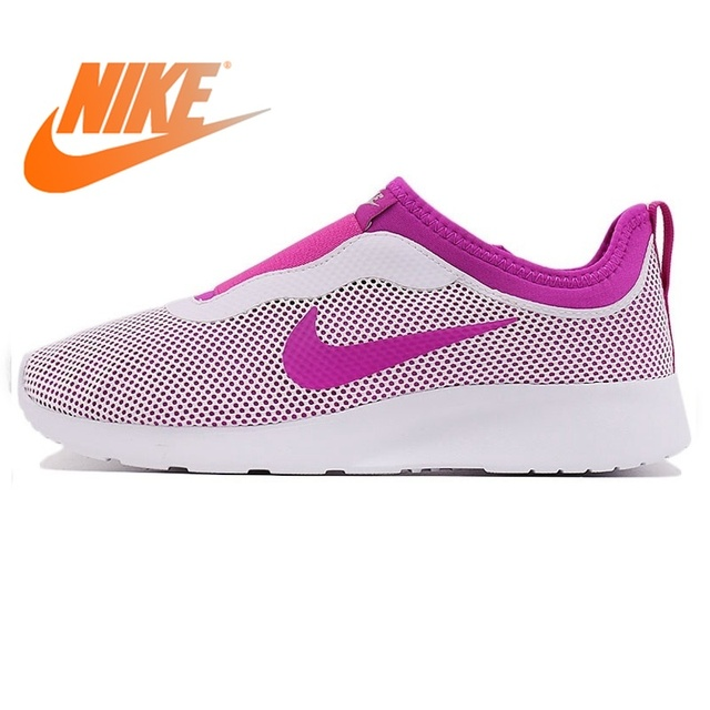 7f818262ab44 Original NIKE TANJUN SLIP Women s Running Shoes Outdoor Sports Designer  Athletics Official Stability Lace-up Sneakers 902866