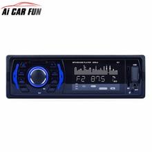 301 12 В металла Аудиомагнитолы автомобильные стерео 10 м расстояние передачи FM Bluetooth V2.0 USB SD Mp3 плеер Aux MIC руки С Дистанционное управление
