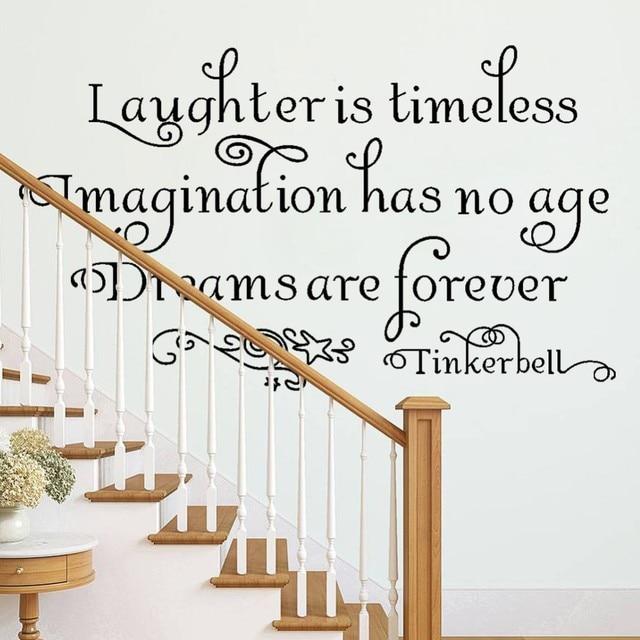 8115 * lachen is tijdloos woonkamer slaapkamer engels quotes ...