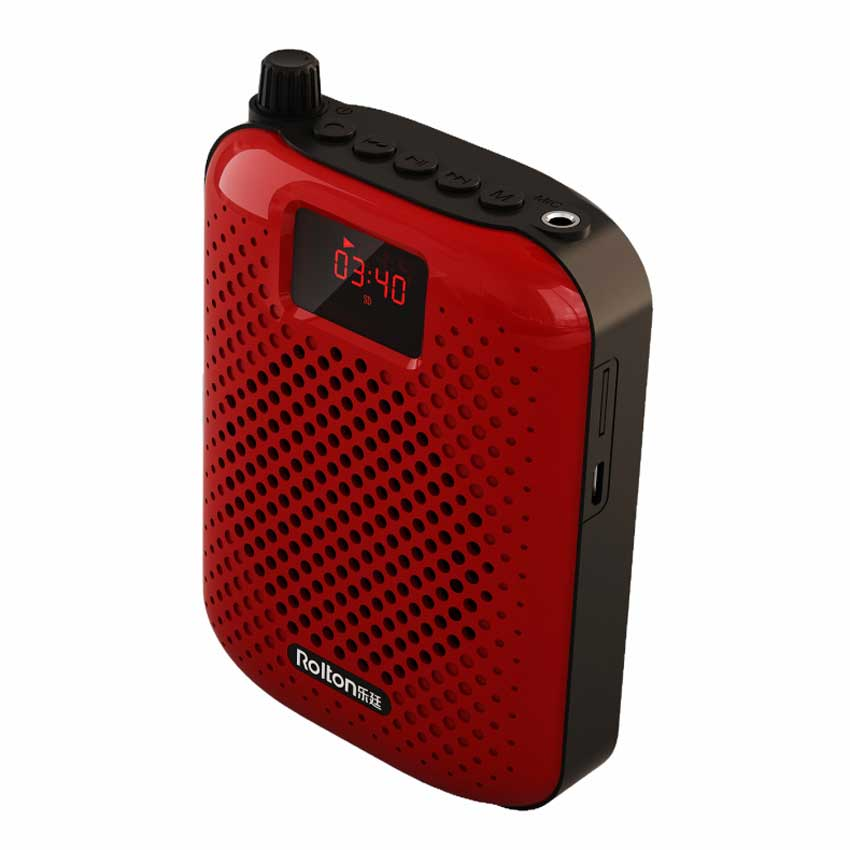 Rolton K500 Bluetooth динамикасы Микрофон - Портативті аудио және бейне - фото 3
