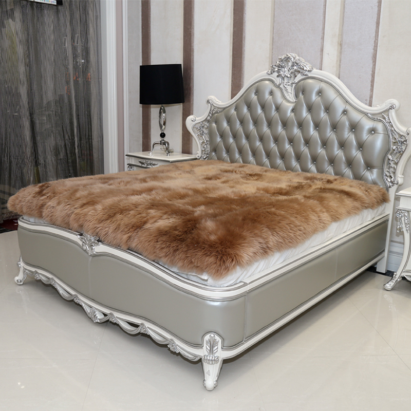 aliexpress : buy 100%fur sheepskin mattress bed fur blanket