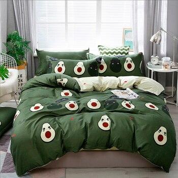 Solstice Bedding Set Avocado Pear