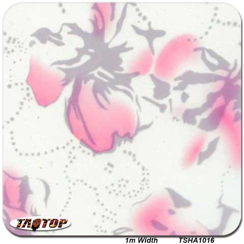 1 M 10sq tsd1016 flor patrón impresión Películas transferencia ...