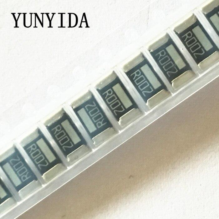 50PCS Chip resistor alloy 2512 0.002R 2mR R002   1%