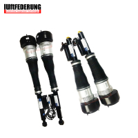 Luftfederung Mercedes W221 2PCS Front + 2PCS Rear Suspension Air Shock Absorber Air Spring 2213209313(9413) 2213205613(5513)