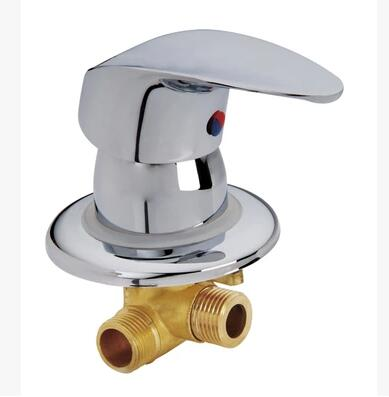 shower faucet hot and cold water mixing valve , shower tap one way screw mixer, Shower room valve maintenance accessories