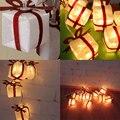10-LED 2M Christmas Gift Box Party Light String Luminous Xmas Holiday Decoration