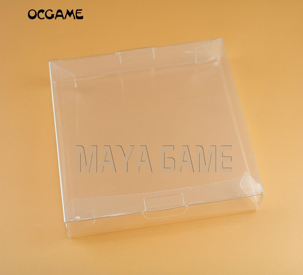 OCGAME 30pcs lot transparent for Gameboy Advanve Color Cartridge box Protector Case games plastic font b