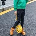 Jeans wear das crianças de inverno 4 5 6 7 8 9 10 11 12 13 anos adolescente menina calças crianças calças de cowboy 4 botão