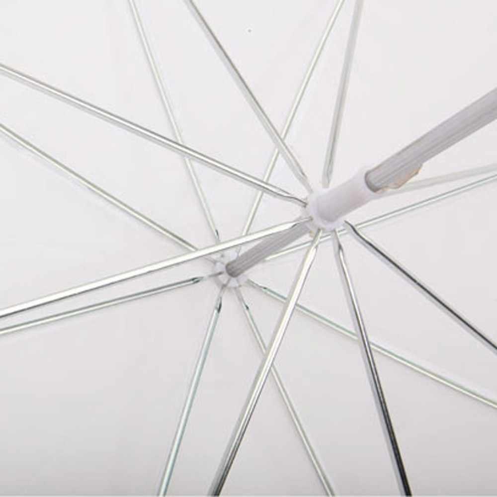 """ASHANKS 33 """"/83 センチメートル写真ソフト傘の半透明ホワイト & Fotografica アクセサリービデオフラッシュ照明"""