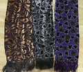 NEW ARRIVAL hot girls silk velvet Burnout  Scarf neck scarf12pcs/lot