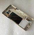 Original para samsung galaxy note 5 n920 placa quadro do meio Apoio de metal Moldura Tampa da caixa + Botões Laterais + Camera Lens + NFC