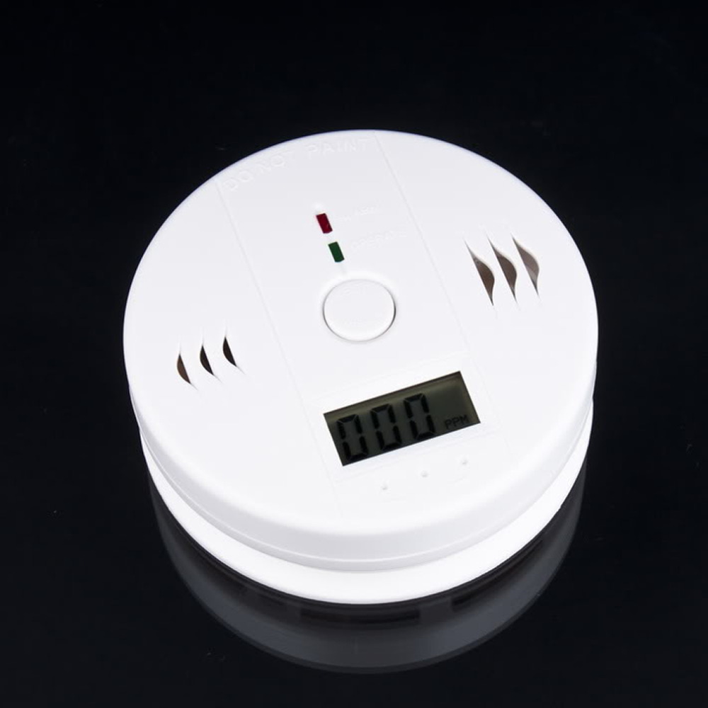 Gas Sensor Warning Alarm Detector 2018 New Home Safety CO Carbon Monoxide Poisoning Smoke Kitchen High Quality Dropshipping