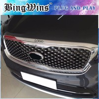 ABS Chrome Front Engine Machine Lid Cover Trim For KIA Sorento 2015 2016 2017 High Quality