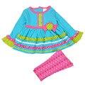Newborn Baby Girl Clothes Set 2016 Kids Princess Casual Long Sleeve Cotton T-Shirt+Pant for Baby Girl Clothing vestidos roupas