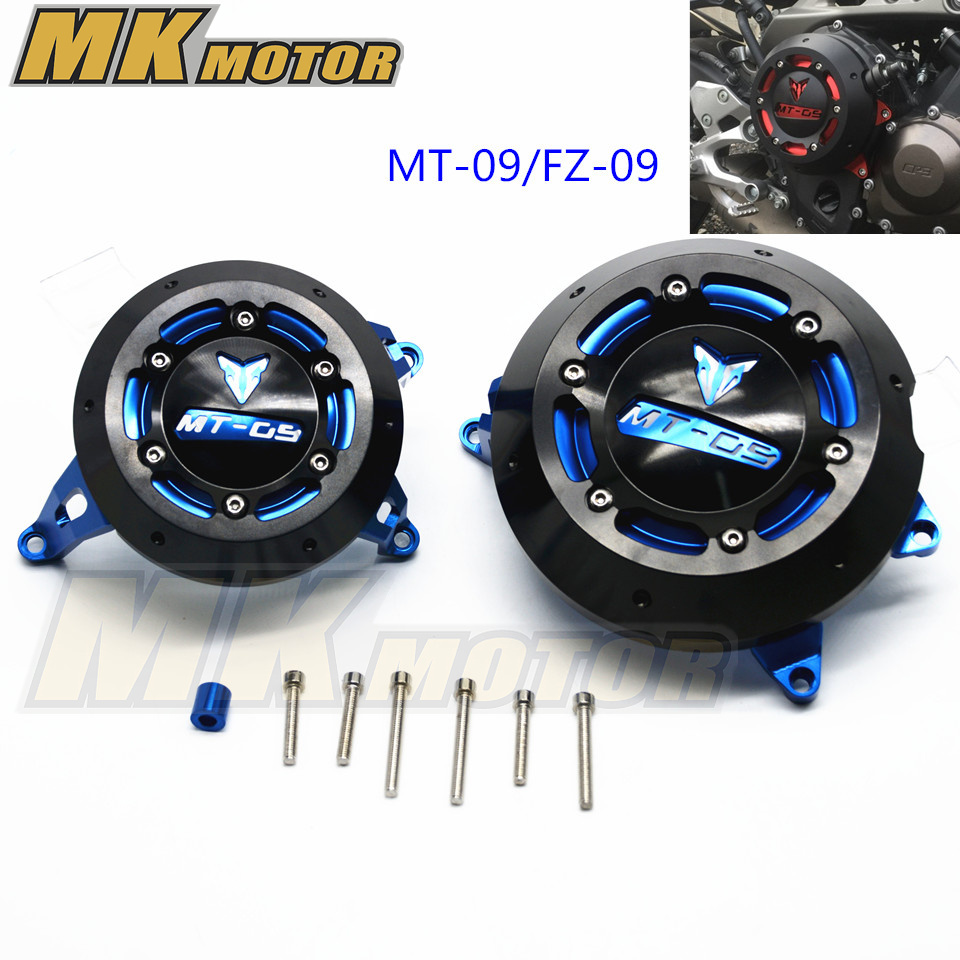 MT-09 MT 09 FZ09 Tracer Engine Guard Protector For YAMAHA MT09 FZ 09 Engine Guard Case Slider Cover Protector Set 7 color aluminum engine stator case cover protective side protector for mt09 fz09 mt 09 fz 09 fz mt 09 2014 2015 2016 14 15 16