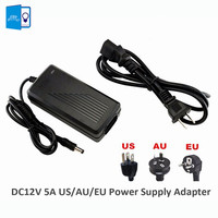 EU UK US 12V Power Supply For LED Strip Adapter LED Driver AC110 220V To DC12V