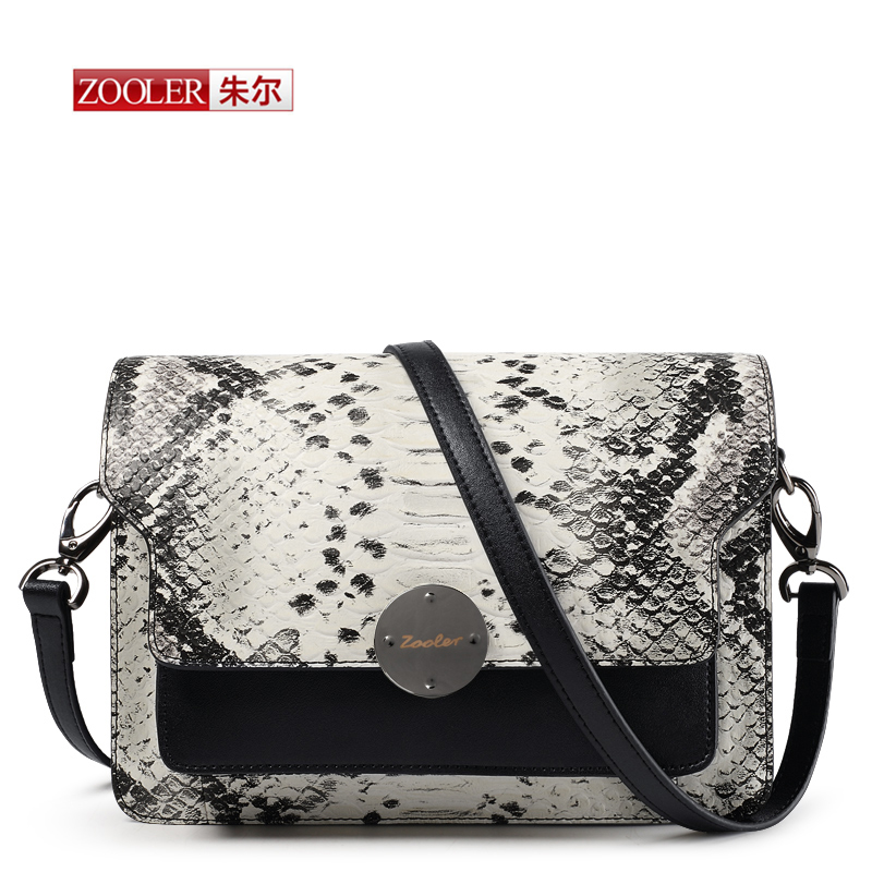 ФОТО  New 2017  Fashion Genuine leather Crossbody bags Python pattern Women  Messenger Bags Serpentine ladies mini-bags brand#QM-1113
