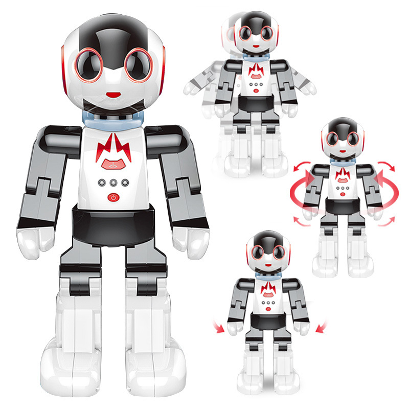Newest Multi-functional Intelligent Gesture Sensing Robot 2842 Dancing and Musical Electronic RC Robot Kids Birthday ToyNewest Multi-functional Intelligent Gesture Sensing Robot 2842 Dancing and Musical Electronic RC Robot Kids Birthday Toy