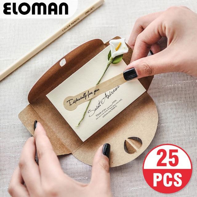 25pcs pocket wedding invitation cards eloman wedding birthday bridal