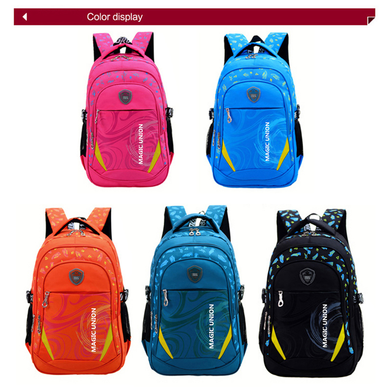 Magic Union Children School Bags Brand Design Child Backpack In Primary Backpacks For Boys And Mochila Infantil Zip From Luggage