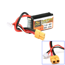 1pcs ZOP Power LiPo Battery 7.4V 500mAh 45C 2S XT60 Plug For RC Quadcopter Drone Helicopter Car Airplane